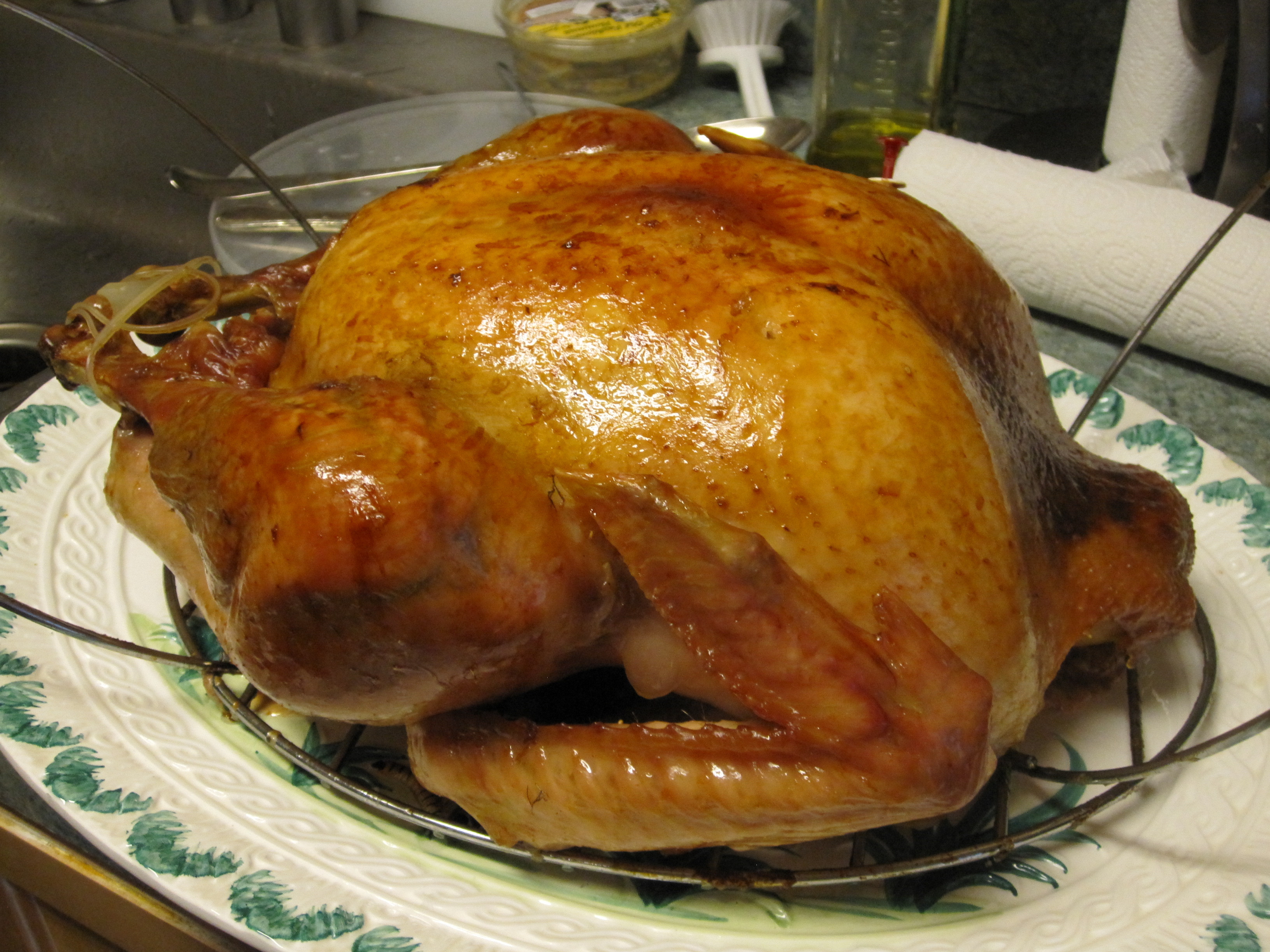 Precooked Thanksgiving Turkey  Turkeytopia How I Produced a Thanksgiving Turkey Dinner