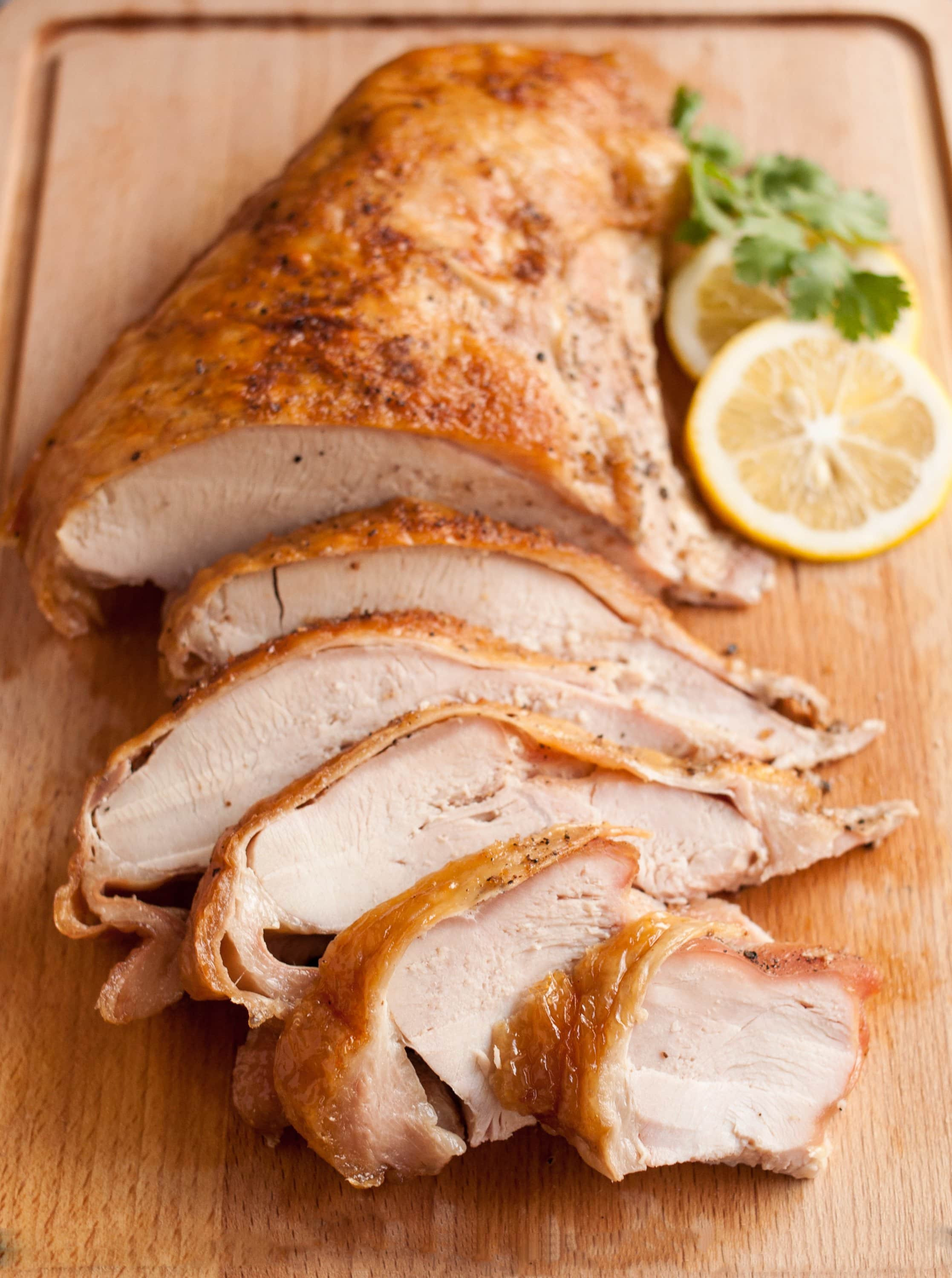 Prepare Thanksgiving Turkey  How To Cook A Turkey Breast Turkey Breast Recipe