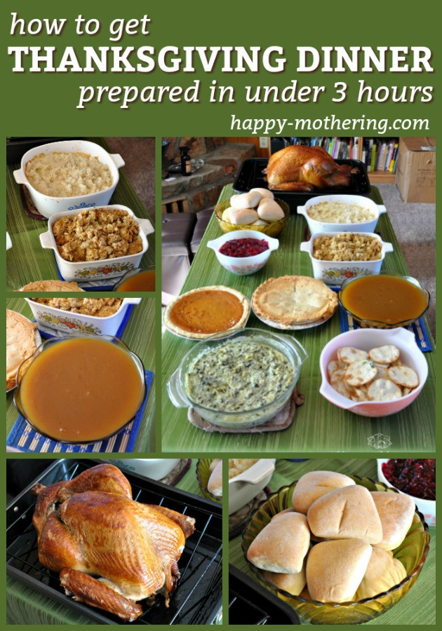 Prepared Thanksgiving Dinners 2019  How to Get Thanksgiving Dinner Prepared in Under 3 Hours