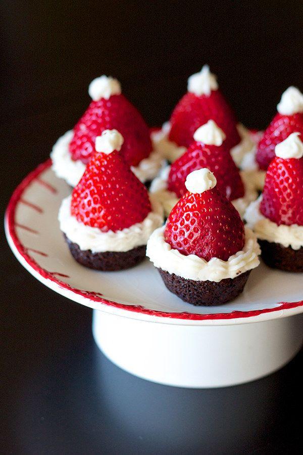Pretty Christmas Desserts  1000 Cute Christmas Ideas on Pinterest