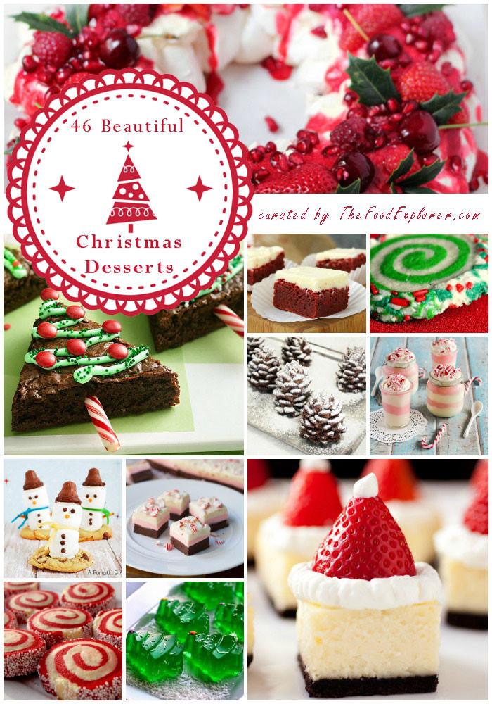 Pretty Christmas Desserts  The Most Beautiful and Easy 46 Christmas Desserts on the