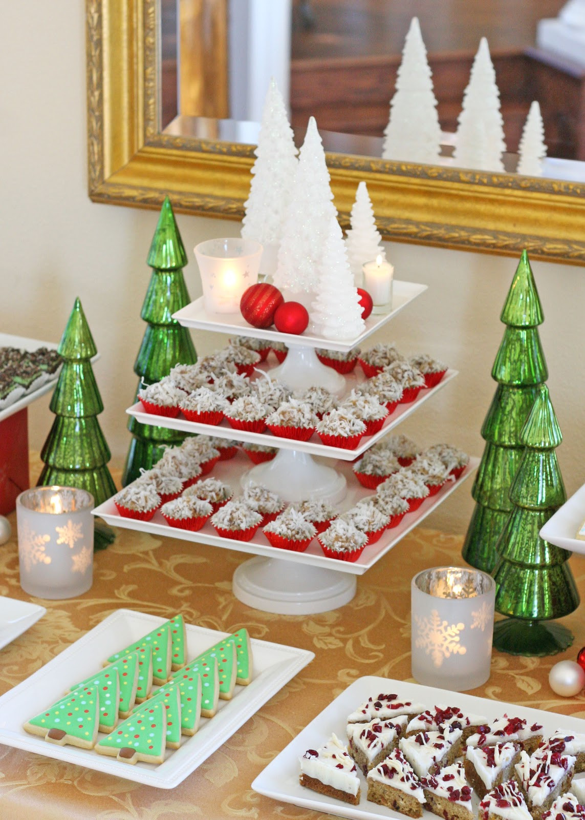 Pretty Christmas Desserts  Classic Holiday Dessert Table Glorious Treats