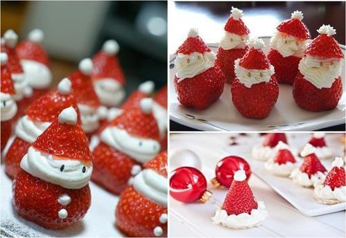 Pretty Christmas Desserts  cute desserts Christmas Pinterest