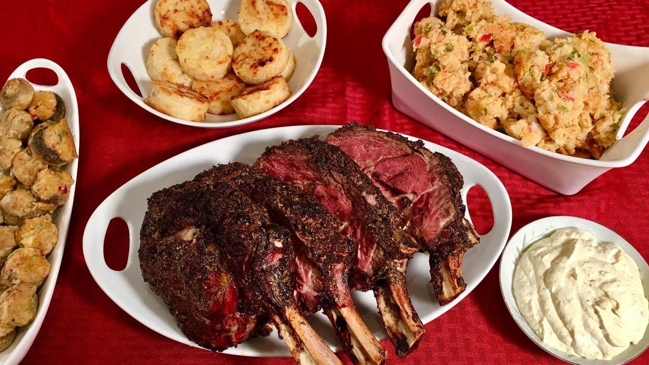 Prime Rib Christmas Dinner  I Bought My Prime Rib Dinner Over The Internet CHRISTMAS