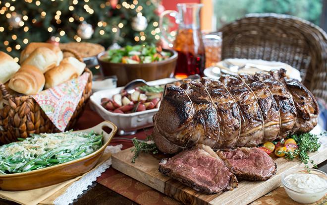 Prime Rib Christmas Dinner  Prime Rib Dinner