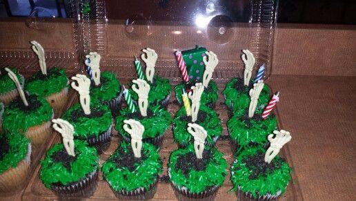 Publix Halloween Cakes  My publix Zombie cakes ZOMBIE BIRTHDAY