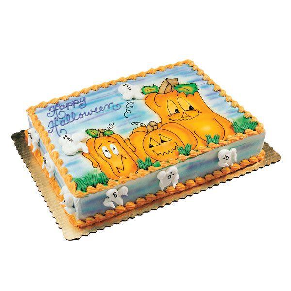 Publix Halloween Cakes  Happy Pumpkin Patch Cake via Publix