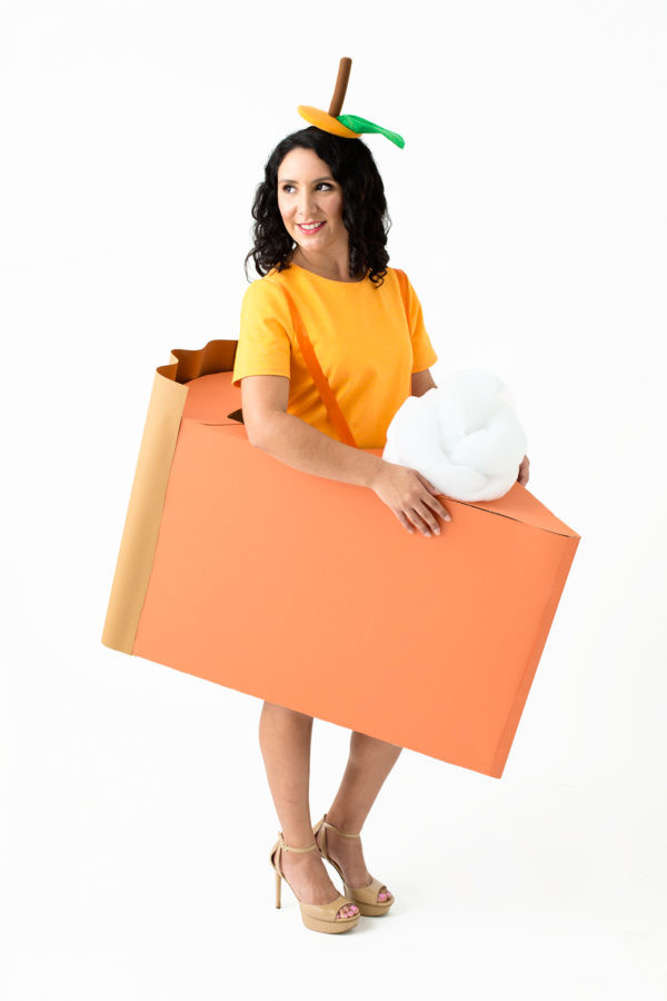 Pumpkin Pie Halloween Costume  DIY Pie Slice Costumes Studio DIY