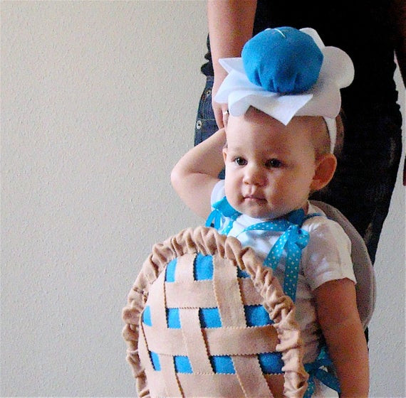 Pumpkin Pie Halloween Costume  Baby Costume Toddler Costume Pie Halloween Costume Blueberry