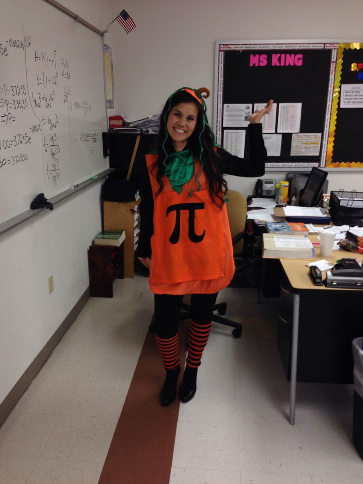 Pumpkin Pie Halloween Costume  7 Teacher Costume Ideas For Halloween
