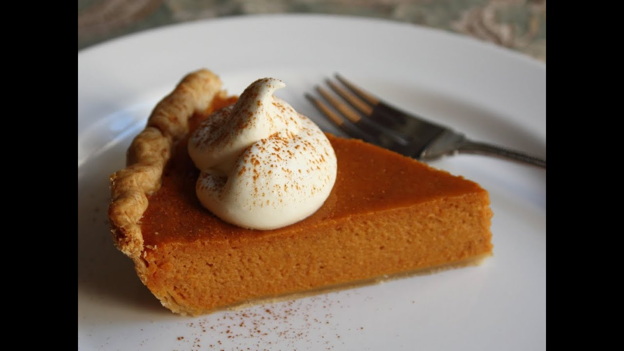 Pumpkin Pie Thanksgiving  Best Pumpkin Pie Ever Classic Thanksgiving Pumpkin Pie