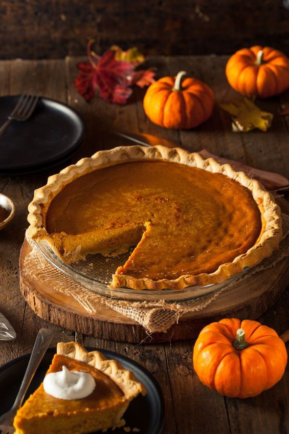 Pumpkin Pie Thanksgiving  Easy Thanksgiving Pumpkin Pie