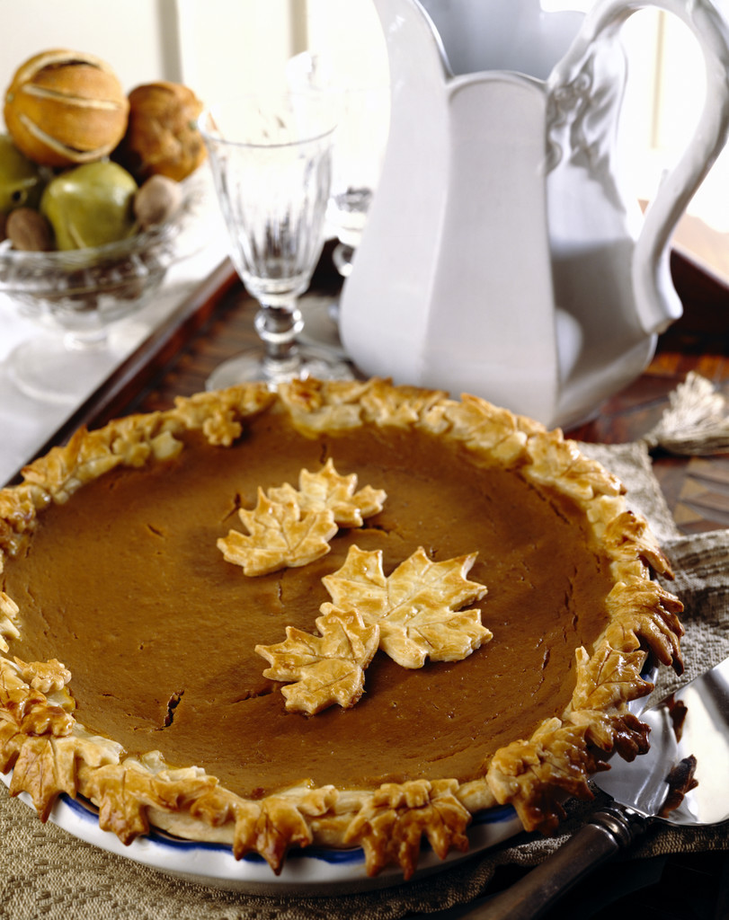 Pumpkin Pie Thanksgiving  Thanksgiving recipes to keep you eating healthy from