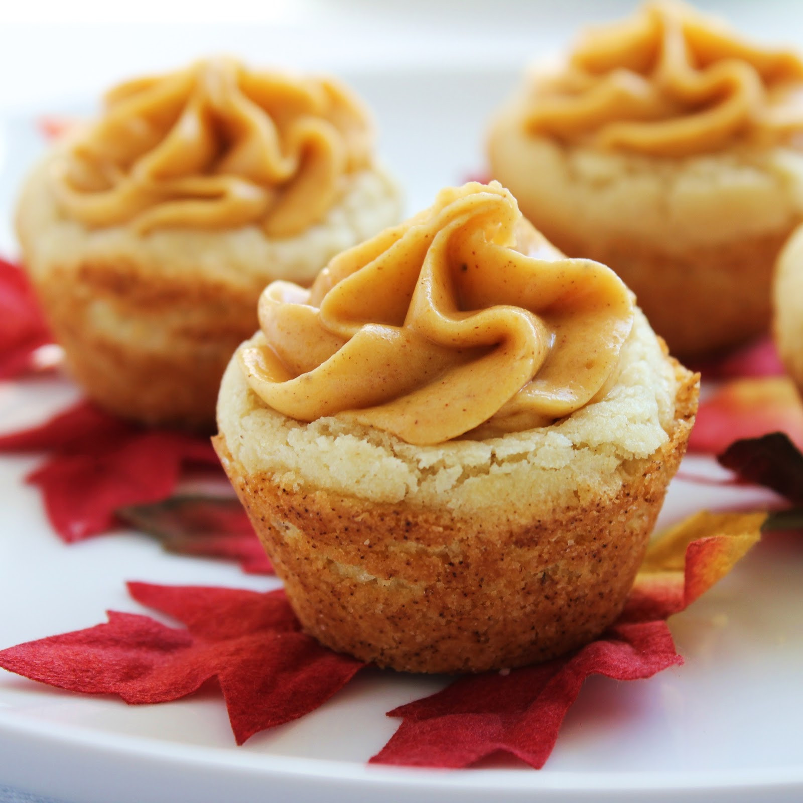 Pumpkin Recipes For Fall  Inspired by Fall Pumpkin Cookie Cups Delicious as it Looks