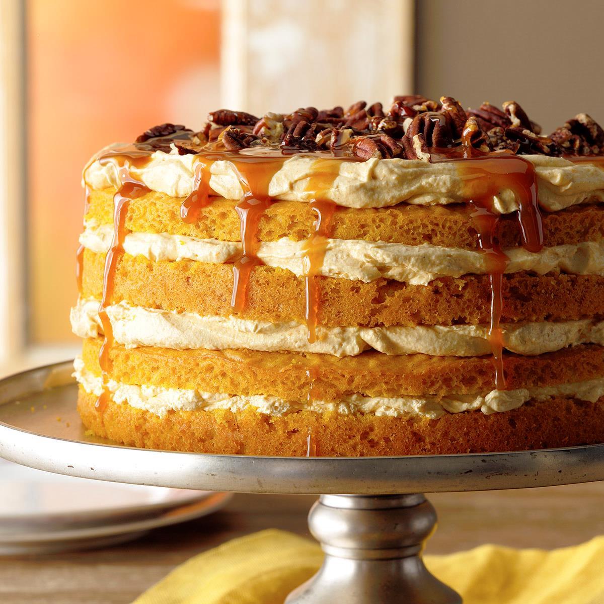 Pumpkin Recipes For Fall  Pumpkin Torte Recipe
