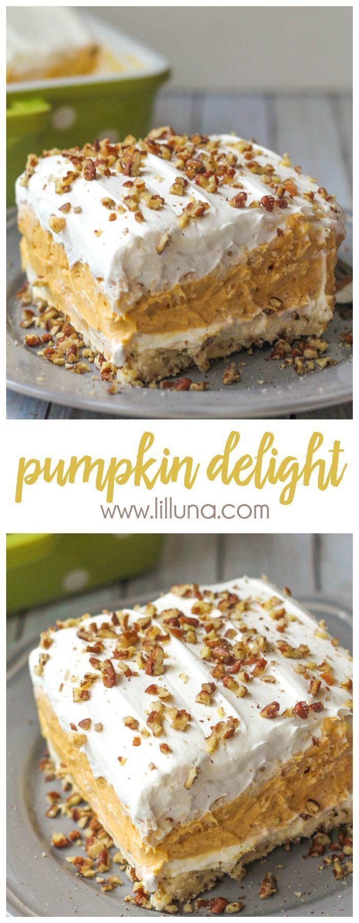 Pumpkin Recipes For Fall  2206 best Fall PUMPKIN Desserts Recipes images on