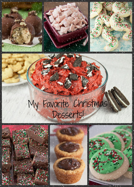 Quick Christmas Desserts  My Top 12 Favorite Christmas Desserts