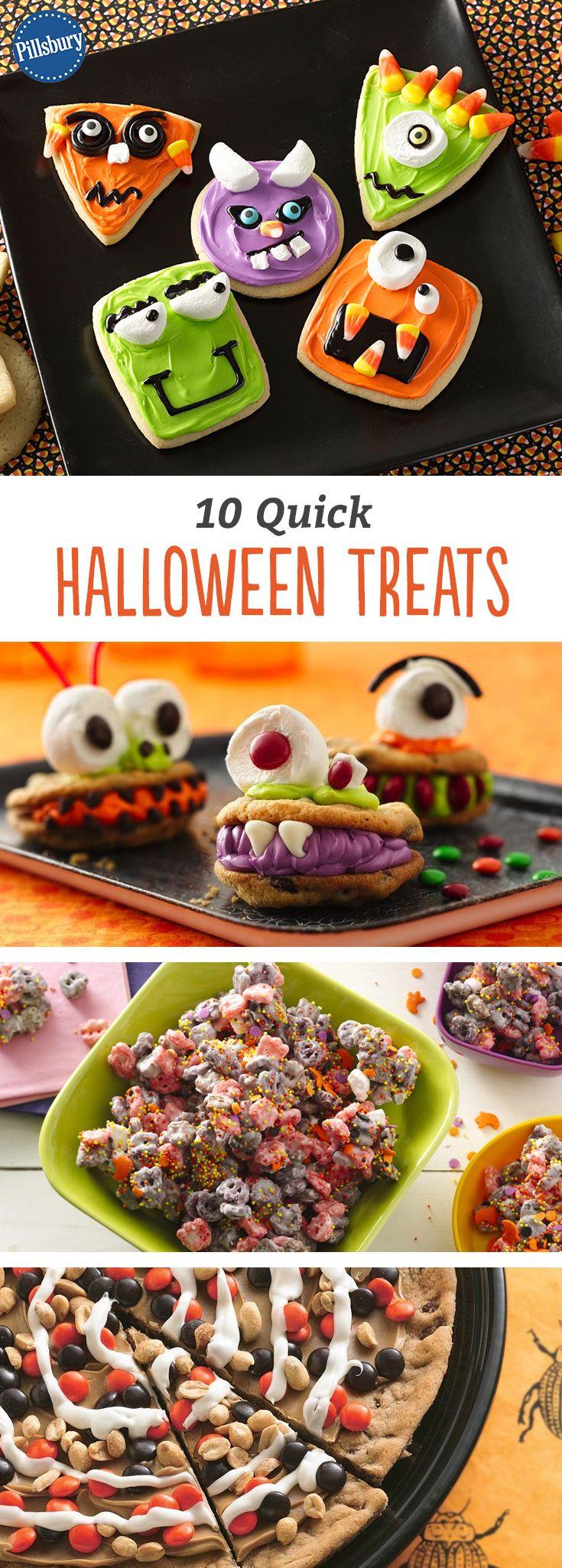 Quick Halloween Desserts  10 Quick Halloween Treats