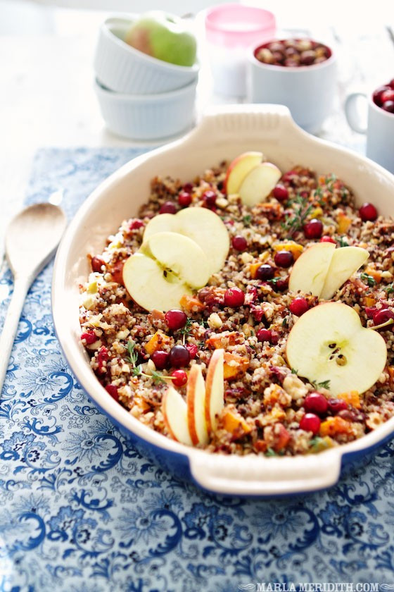 Quinoa Stuffing Thanksgiving  Thanksgiving Sides That Will Make the Turkey Jealous