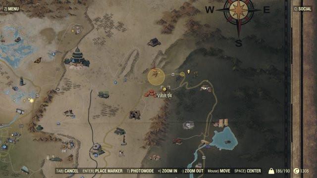 Radioactive Pumpkin Seeds Fallout 76  Fallout 76 Vault 94 Location