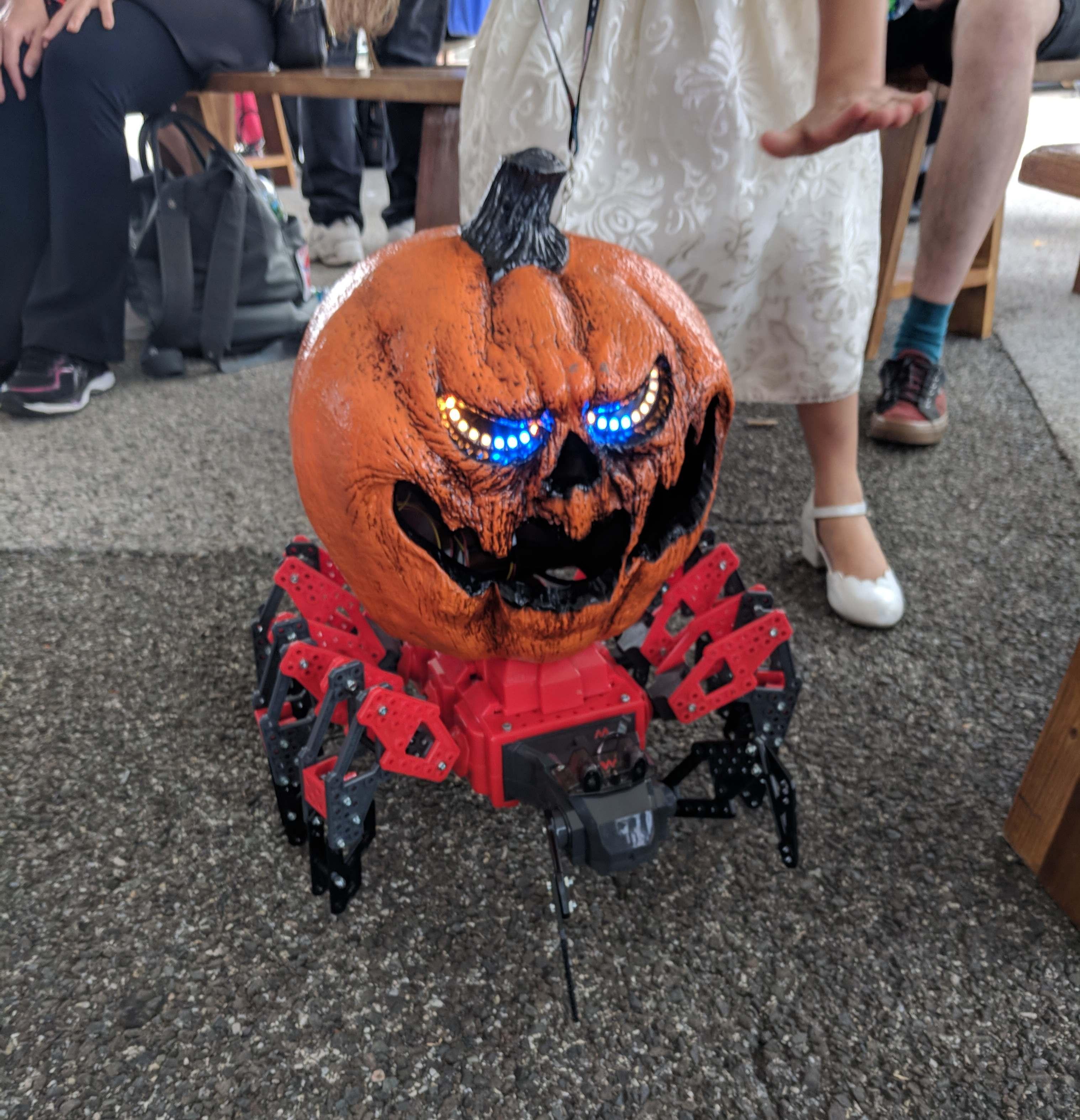 Radioactive Pumpkin Seeds Fallout 76  'Pumpkinstein' is a Spooktacular MeccaSpider & Pumpkinbot
