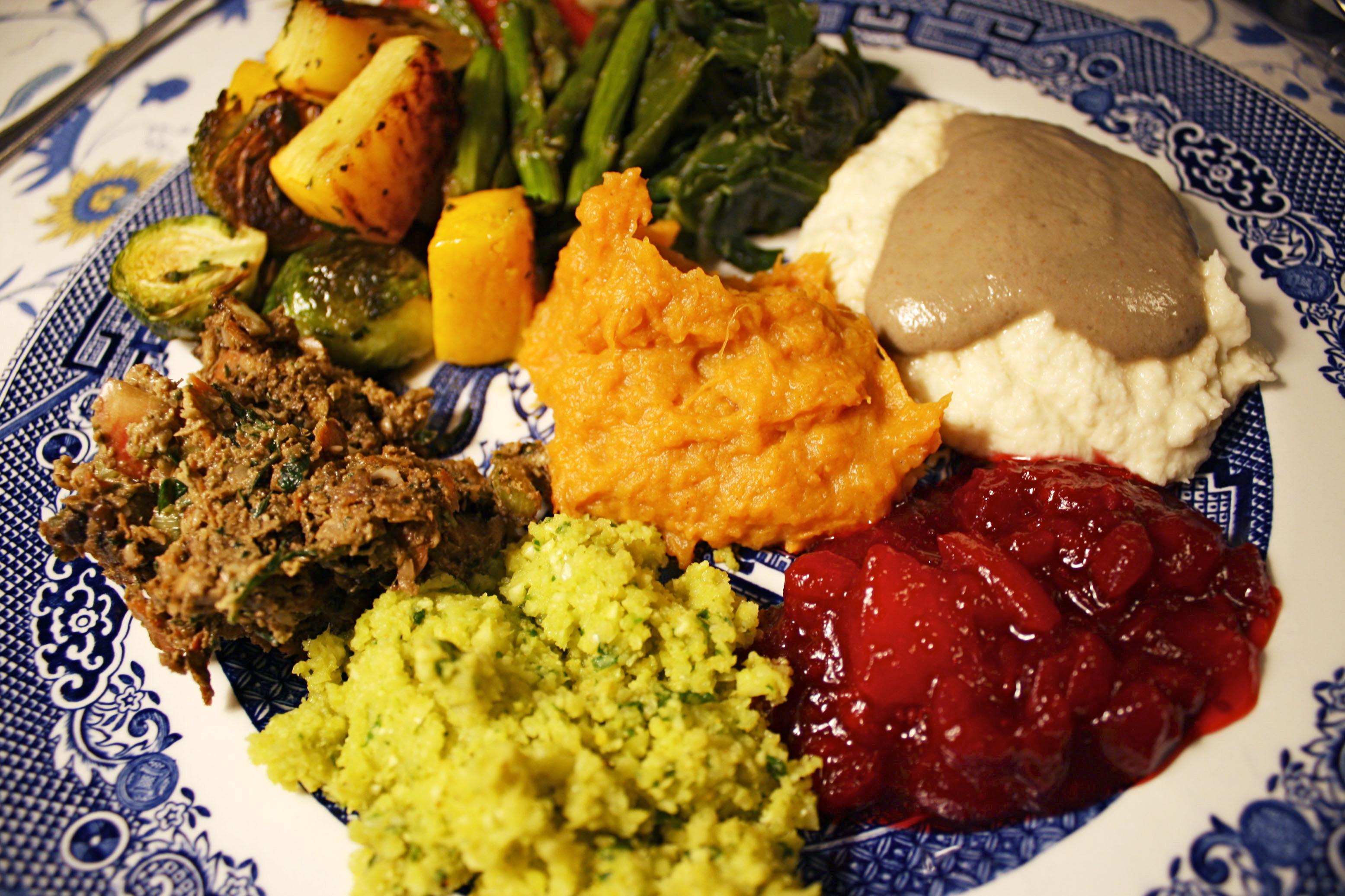 Raw Vegan Thanksgiving  thanksgiving