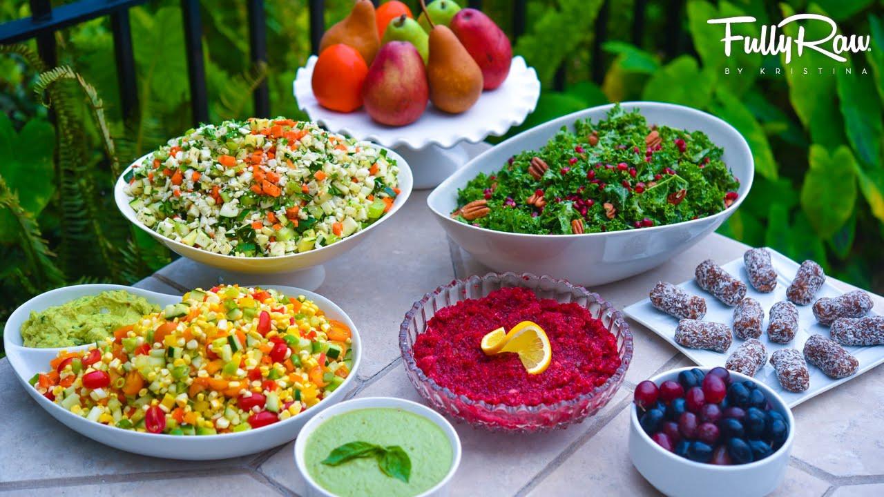 Raw Vegan Thanksgiving  My FullyRaw & Vegan Thanksgiving Menu 2015