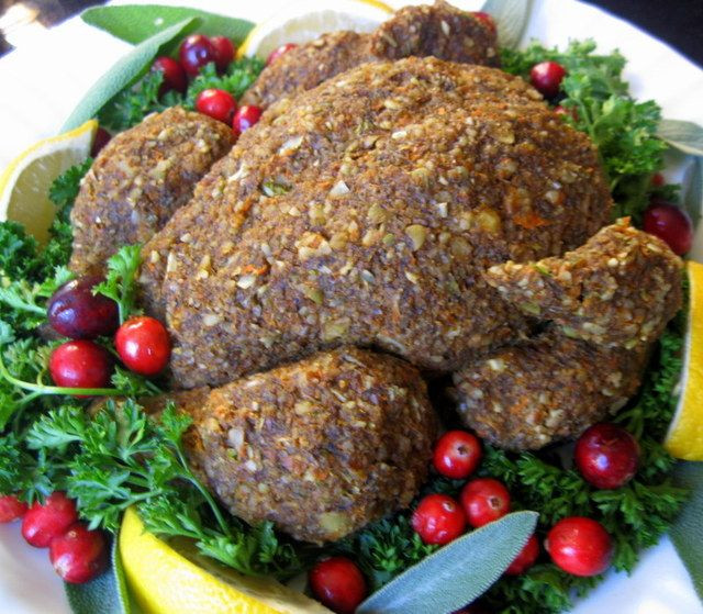 Raw Vegan Thanksgiving  116 best images about Food Ve arian Sausages Mock