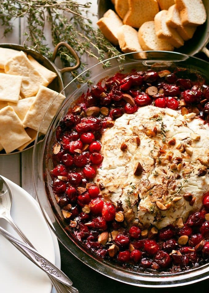Recipe For Christmas Appetizers  Baked Goat Cheese Roasted Cranberry Appetizer Recipe