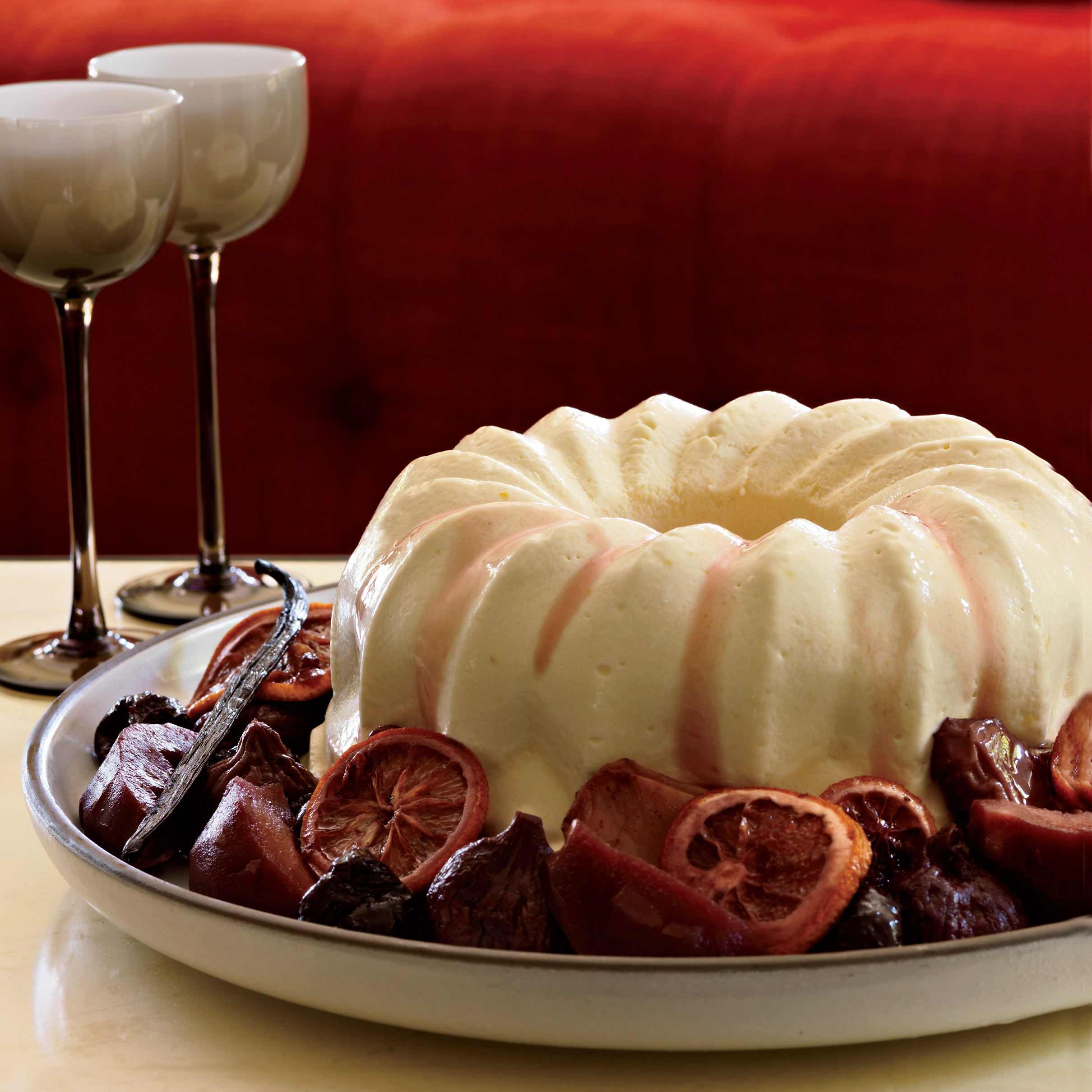 Recipe For Christmas Desserts  Brandy Mascarpone Semifreddo Recipe