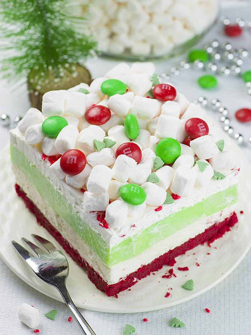 Recipe For Christmas Desserts  Christmas Lasagna