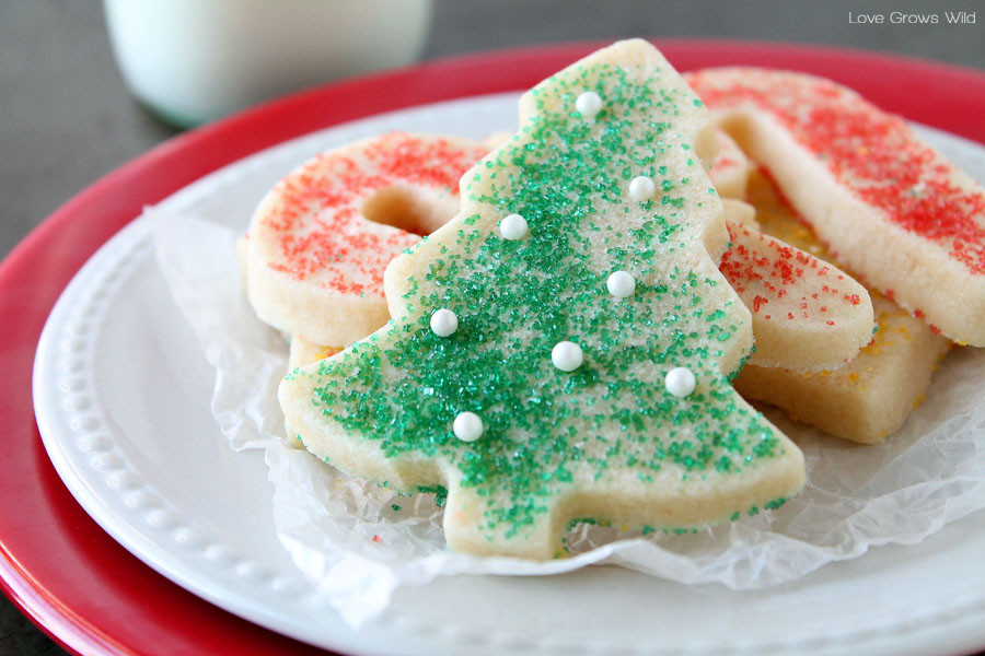Recipe For Christmas Sugar Cookies  The BEST Sugar Cookie Cut out recipe