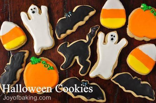 Recipe For Halloween Cookies  Halloween Cookies Recipe Joyofbaking Tested Recipe