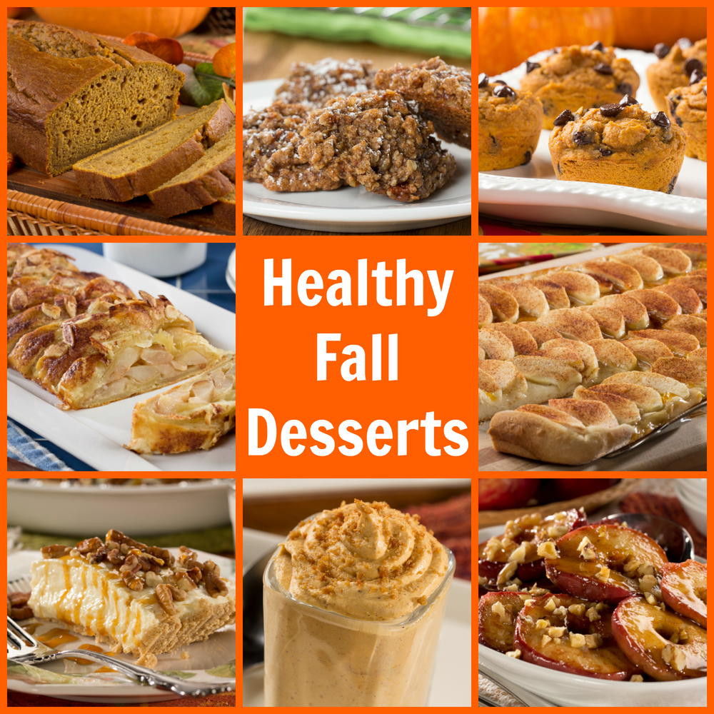 Recipes For Fall Desserts  Healthy Fall Dessert Recipes