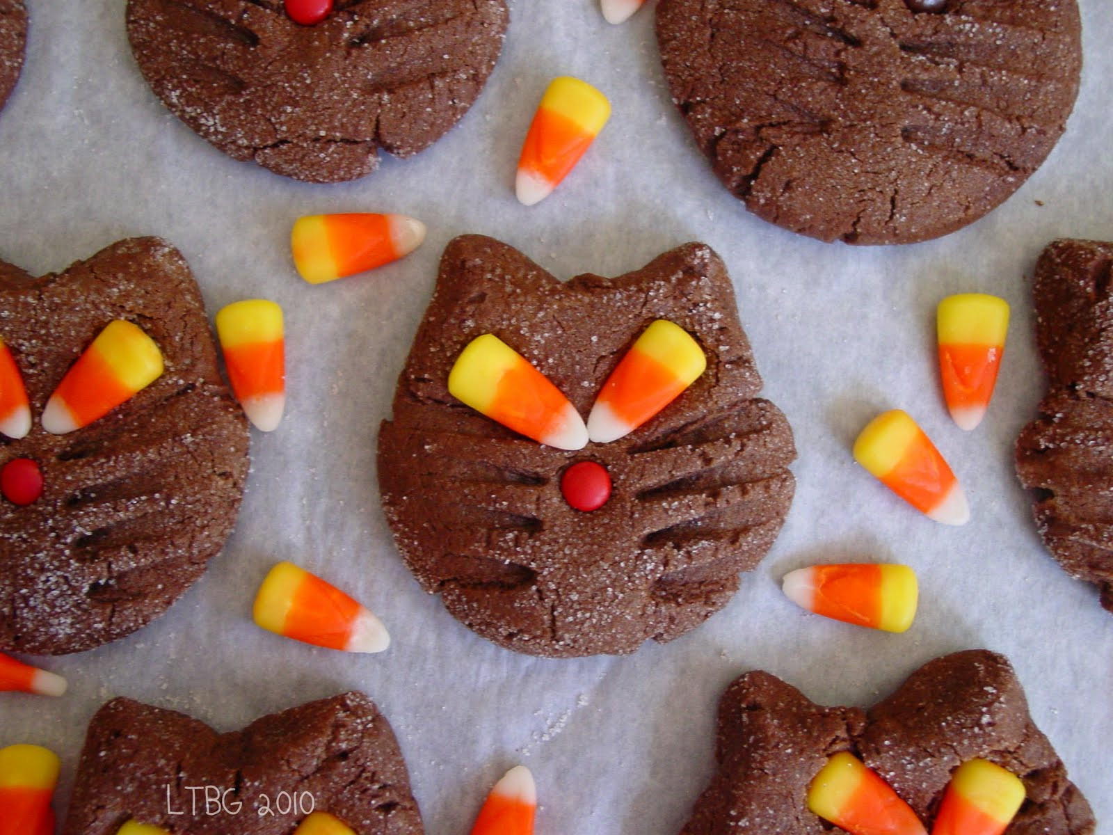 Recipes For Halloween Cookies  Lick The Bowl Good Halloween Recipe Black Cat Cookies