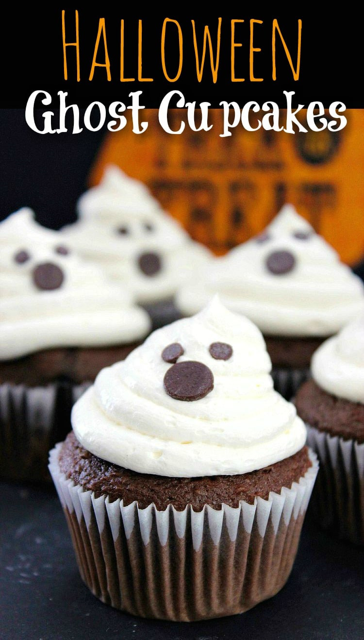 Recipes For Halloween Cupcakes  Halloween Ghost Cupcakes Recipe
