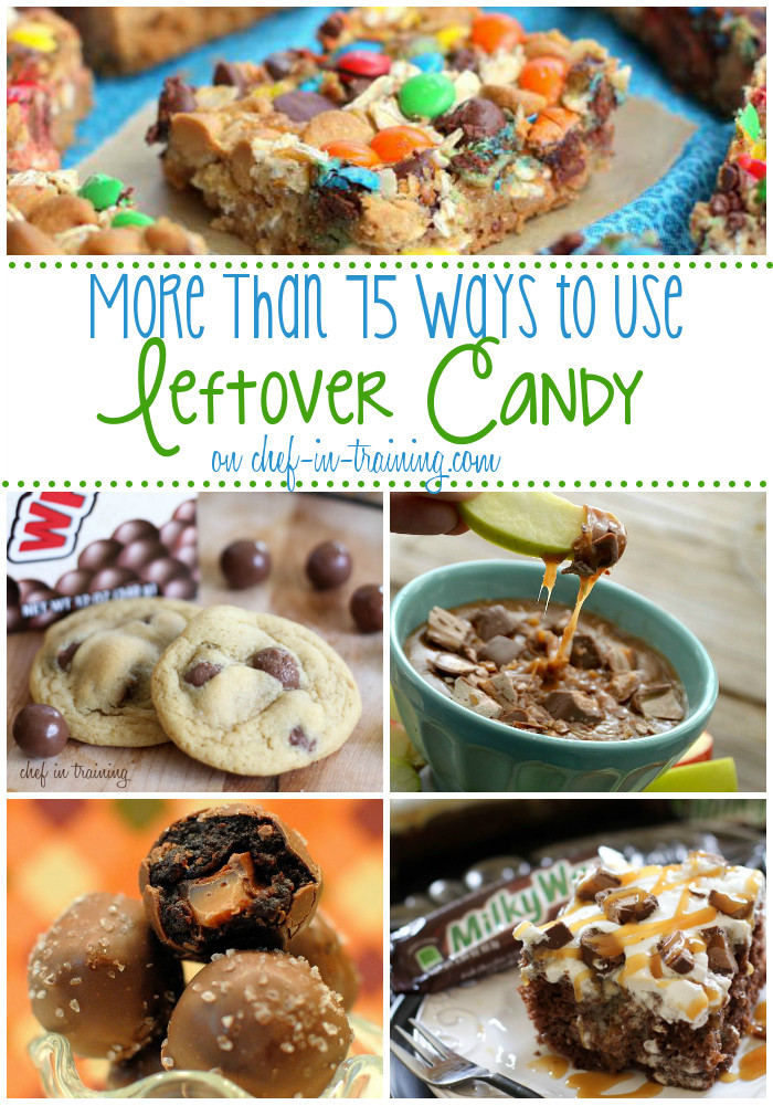 Recipes For Leftover Halloween Candy  75 Ways to Use Leftover Halloween Candy Chef in Training