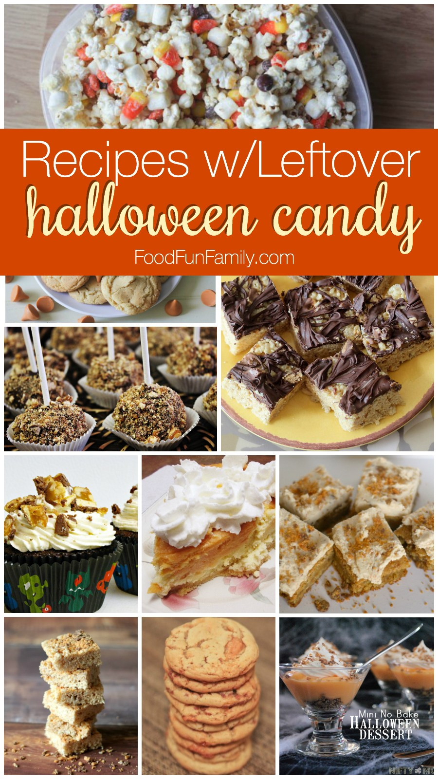 Recipes For Leftover Halloween Candy  Leftover Halloween Candy Recipes and Crafts