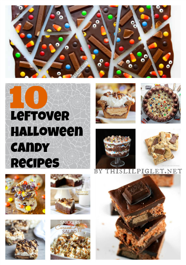 Recipes For Leftover Halloween Candy  10 Leftover Halloween Candy Recipes This Lil Piglet