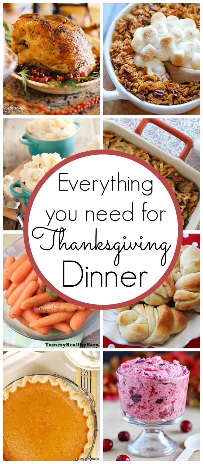 Recipes For Thanksgiving Dinner  Thanksgiving Dinner Recipes