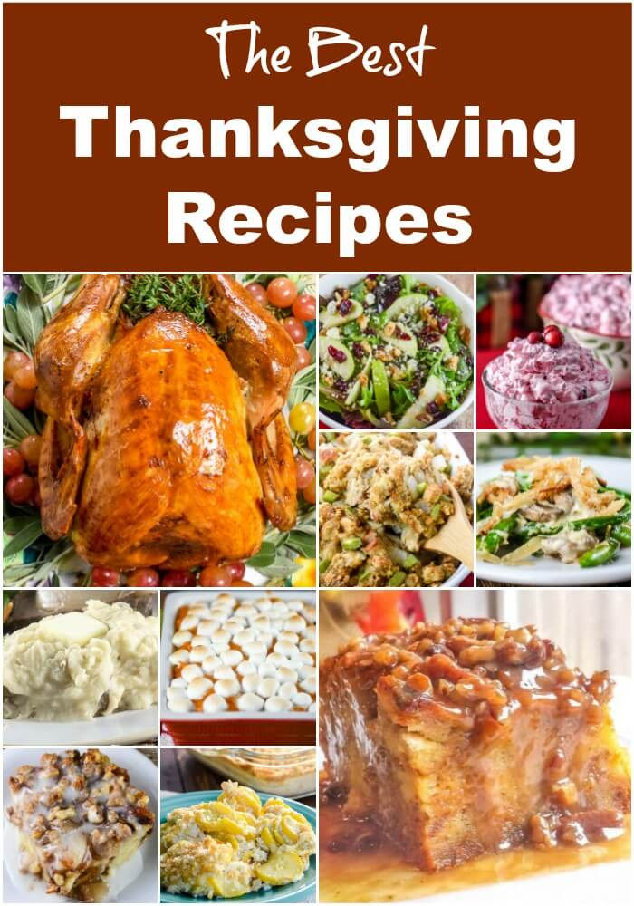 Recipes For Thanksgiving Dinner  Best Thanksgiving Recipes Flavor Mosaic