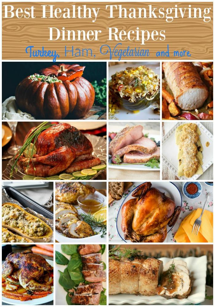 Recipes For Thanksgiving Dinner  The Best Healthy Thanksgiving Dinner Recipes Food Done Light