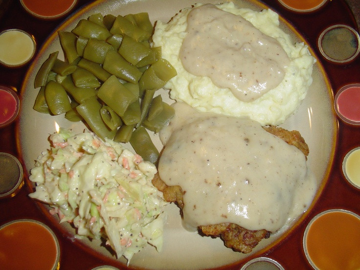 Ree Drummond Mashed Potatoes Thanksgiving  Chicken Fried Steak and Gravy and Mashed Potatoes from