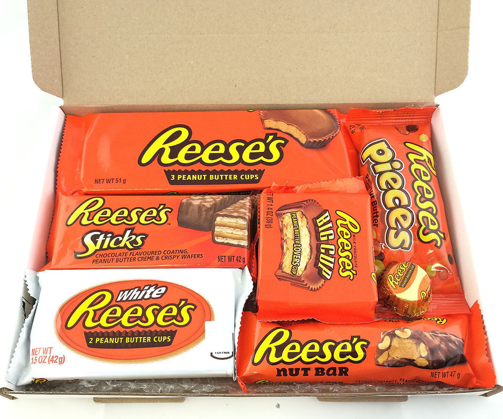 Reese'S Christmas Candy  Reese s Chocolate Hamper Box Present Birthday Christmas