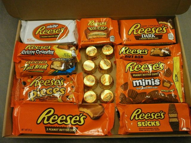 Reese'S Christmas Candy  Reese s American Candy Gift Box Gift Set American