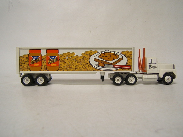 Reese'S Christmas Candy  Winross Tractor Trailer Reese s Peanut Butter Childrens