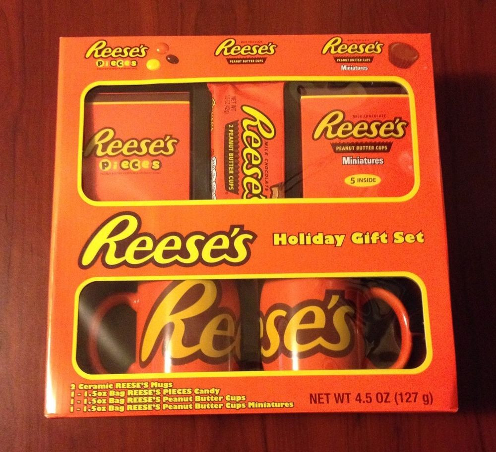 Reese'S Christmas Candy  Reese s Peanut Butter Cup Ceramic Mugs & More Holiday Gift