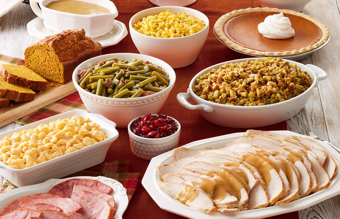 Restaurant Thanksgiving Dinner  Bob Evans from 19 Chain Restaurants Serving Thanksgiving