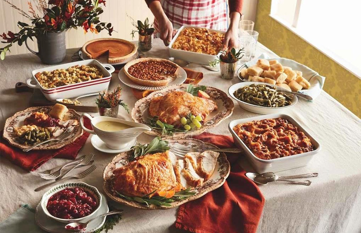 Restaurant Thanksgiving Dinner  Cracker Barrel Old Country Store from 19 Chain Restaurants