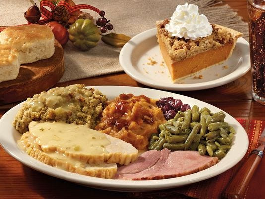 Restaurants Open For Breakfast On Thanksgiving  Where to dine out for Thanksgiving dinner in Shreveport